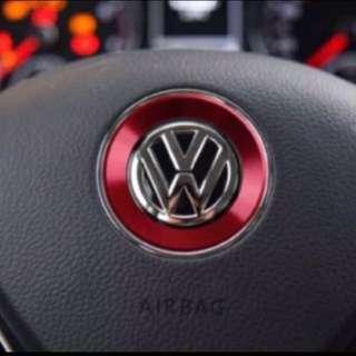 Volkswagen steering emblem