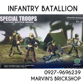 For Sale Call of Duty Special Troops Infantry Battalion Building Blocks Toy