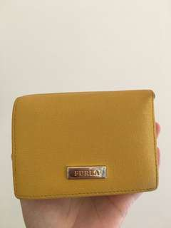 Preloved Furla Trifold Wallet