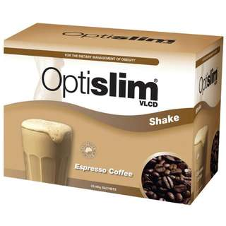 Optislim VLCD Meal Replacement Coffee Shake 21 x 40g Sachets