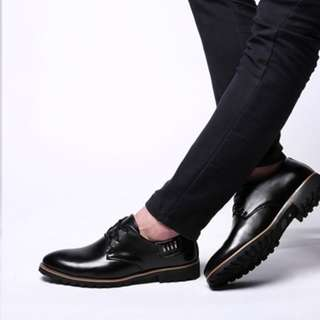 Men's Leather Dress Shoes (All Sizes Available) + Free Delivery