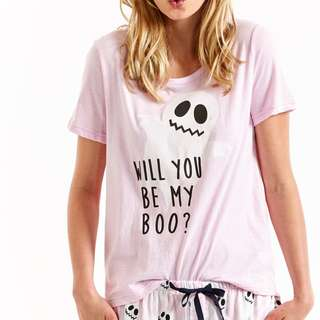peter alexander will you be my boo? tee