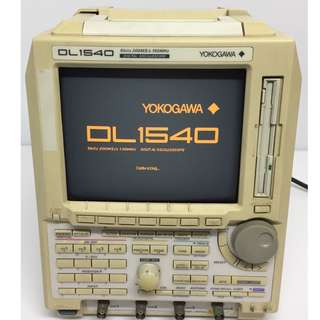 YOKOGAWA DL1540 8 BITS 200 MS/s 150 MHZ 4 CHANNEL DIGITAL OSCILLOSCOPE (Quantity 4)