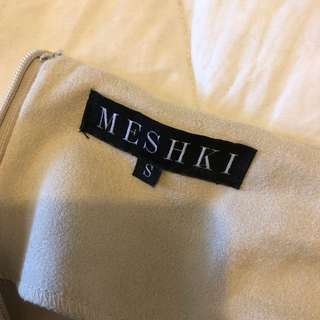 MESHKI NUDE LEGGINGS