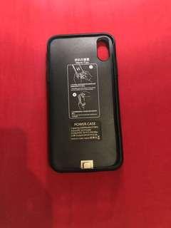 IPhone X 充電套 power case