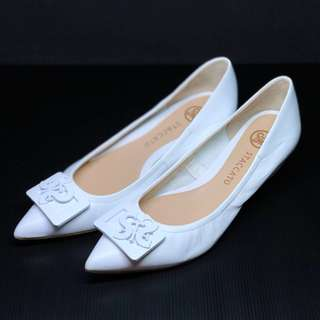 Staccato Wedges White Original Second
