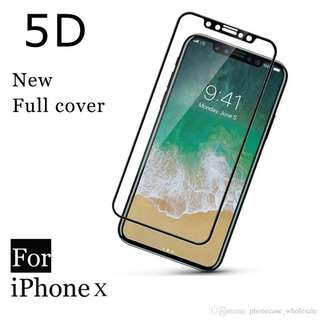 COD! 5D Full Tempered Glas for iPhone X