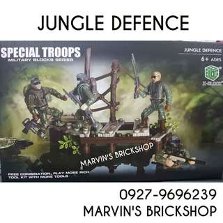 For Sale Call Of Duty Special Troops Jungle Defence Building Blocks Toy