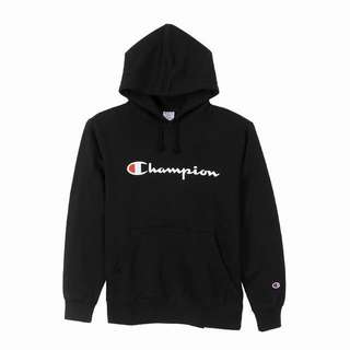 Champion Japan Hoodie in Black