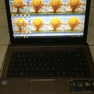 Dijual cepat laptop asus corei3 64 bit