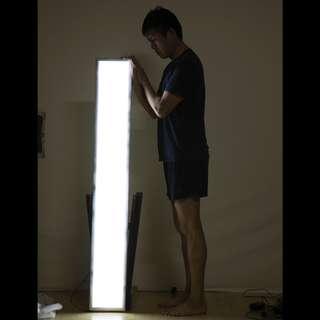 LED Display lightbox (17cm x 144cm)