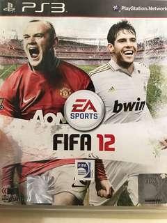 包郵 PS3 FIFA 12 英文版 95%新