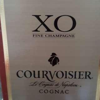 XO courvoisier  1 litre