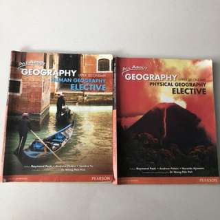 Upper Secondary Human Geography elective (2 books)