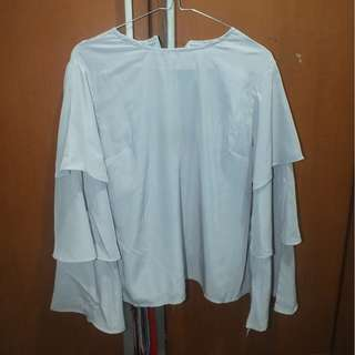 REPRICE Ruffle Blouse