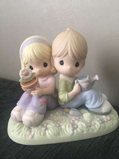 Precious Moments Figurine- Love Is Always In Bloom