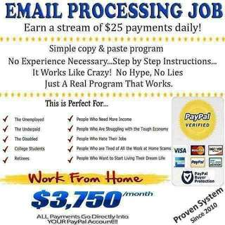 Earn USD 25-200 per day