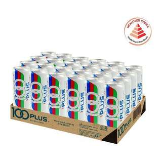 100 Plus Isotonic Drink Carton 24 Cans