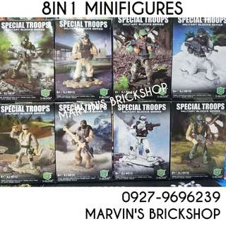 For Sale Call Of Duty Special Troops 8in1 Minifigures