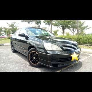 Nissan Sentra 2006 (A) BLACKLIST/CTOS/CCRIS/PTPTN CAN APPOVE LOAN