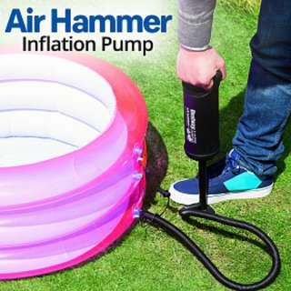 "Air Hammer Inflation Pump 30cm 12"" Bestway"