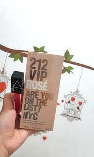 Parfume 212 vip rose free lipstik