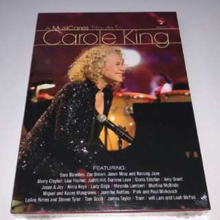 A MusiCares Tribute To Carole King DVD (Imported)