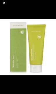 Nature republic green derma mild foam cleanser