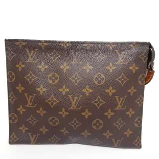 Louis Vuitton Monogram Clutch/ Toiletry Pouch 26