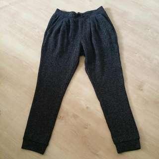 Uniqlo Dark Grey Track/Jogger Pants