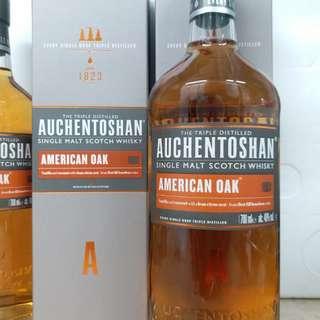 Auchentoshan 美國桶 whisky 威士忌 700ml