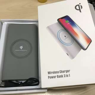 Qi wireless power bank (8000mah)