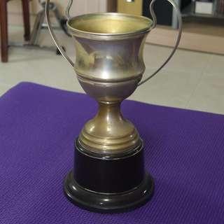 Vintage Silver Trophy H32 cm dia 12 cm