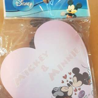 BN MICKEY AND MINNIE NOTE PADS