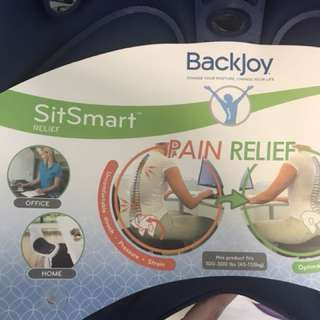 Backjoy posture reduce pain office home car