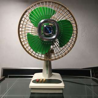 Vintage Sanyo 80s electric fan 懷舊三洋風扇