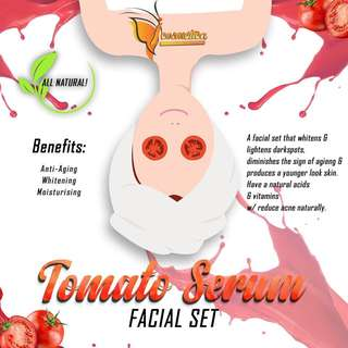 Tomato Serum Facial Set