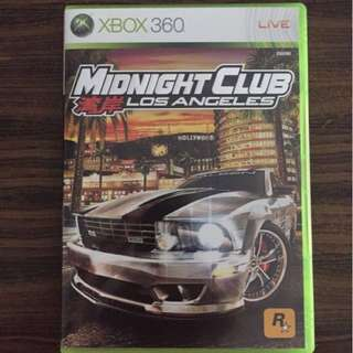 Xbox 360 Game - Midnight Club LA