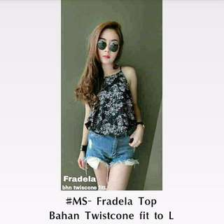 Floral Top casual female