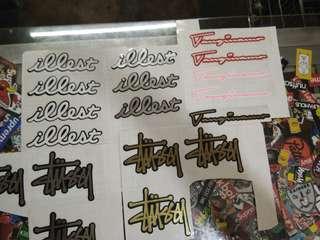 Cut out vinyl sticker