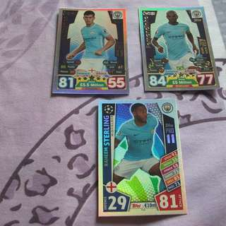 Match Attax Premier League 17/18 Pro 11 (Manchester City)