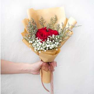 Flower Bouquet: I Love You