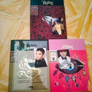 VIXX CONCEPTION ALBUM