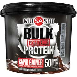 Musashi Bulk Extreme Protein Powder Chocolate 2.25kg