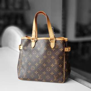 Authentic Louis Vuitton Monogram Batignolles Pm LV