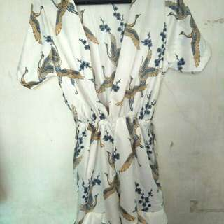 Jumsuit white