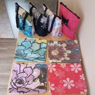 Whimsical Design tote bag