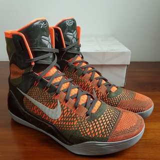 "Nike Kobe 9 Elite High ""Sequoia"" US12 / UK11/ EU46"