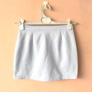Kfashion Powder Blue Skirt