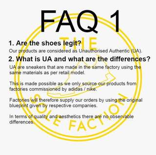 FAQs and Disclaimer